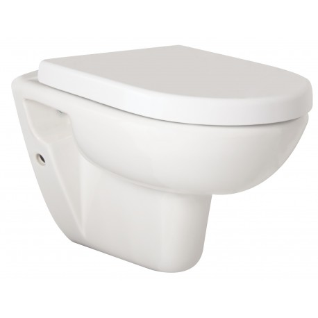 OLSEN SPA WC sedátko  COMPACT SOFT CLOSE  35,7 x 53,2 cm